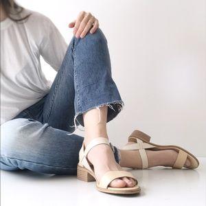 Lucky Brand Toni Block Heeled Sandals